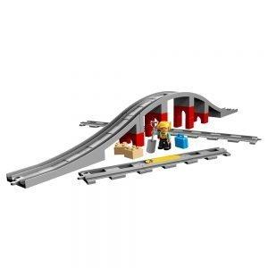 LEGO Duplo 10872 Treinbrug en -Rails 1
