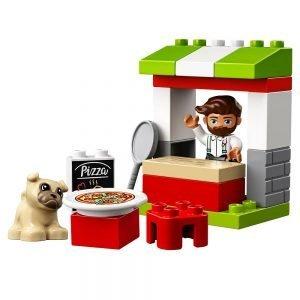 LEGO Duplo 10927 Pizzakraam 1
