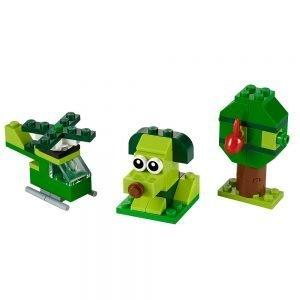 LEGO Classic 11007 Creatieve Groene Stenen 1