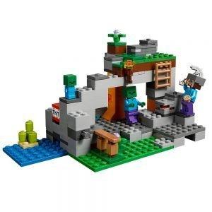 LEGO Minecraft 21141 De Zombiegrot 1