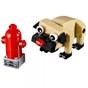 LEGO® Creator 30542 Schattige Mopshond 1