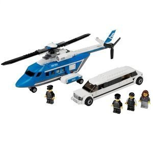 LEGO® City 3222 Helicopter met Limousine 1