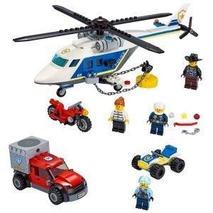 LEGO® City 60243 Politiehelikopter Achtervolging 1