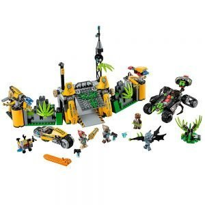 LEGO Chima 70134 Lavertus' Buitengebied Basis 1