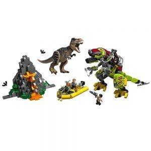 LEGO® Jurassic World 75938 T. Rex vs. Dinomecha gevecht 1