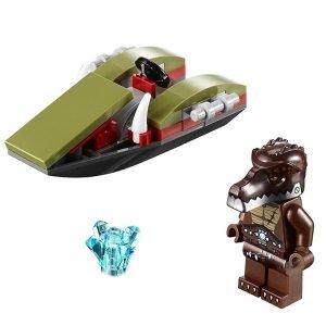 LEGO Chima 30252 Crug's Swamp Jet 1