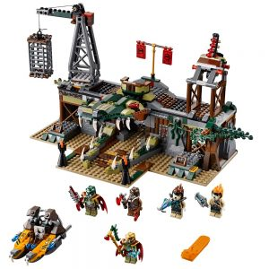 LEGO Chima 70014 De Krokodillen Moerashut 1