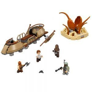 LEGO Star Wars 75174 Desert Skiff Escape 1