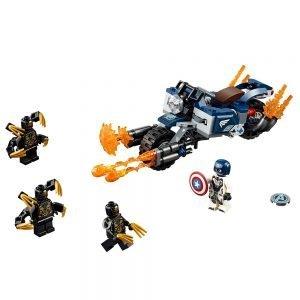 LEGO Super Heroes 76123 Captain America: Aanval van de Outriders 1