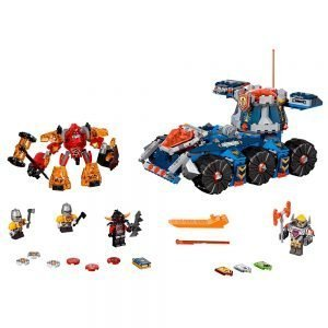 LEGO Nexo Knights 70322 Axl's Torentransport 1