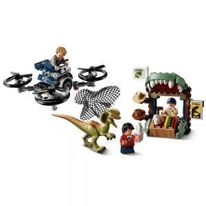 LEGO Jurassic World 75934 Dilophosaurus ontsnapt 1