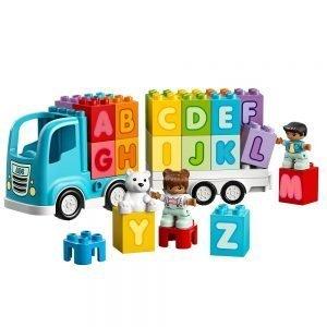 LEGO Duplo 10915 Alfabet Vrachtwagen 1