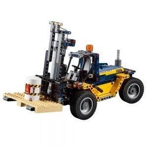 LEGO Technic 42079 Robuuste Vorkheftruck 1