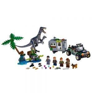 LEGO® Jurassic World 75935 Confrontatie met Baryonyx: de Schattenjacht 1