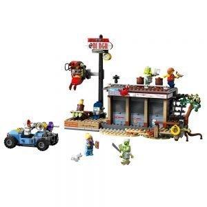 LEGO Hidden Side 70422 Aanval op het Garnalententje 1