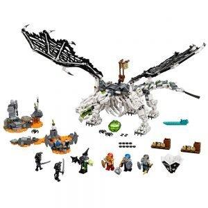 LEGO® Ninjago 71721 Skull Sorcerer's Draak 1
